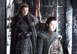Sophie Turner And Maisie Williams Tried To Kiss In Every 'Game Of Thrones' Scene They Shared