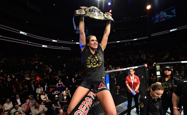Amanda Nunes Will Defend The Bantamweight Title Against Germaine De Randamie At UFC 245