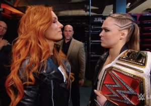 Becky Lynch And Ronda Rousey's Twitter Feud Involves Real Names, Tommy Wiseau, And Possible Heat From WWE