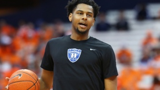 Duke Big Man Marques Bolden Went Down With A Leg Injury Against North Carolina