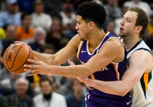 Devin Booker And Jimmer Fredette Made Suns-Jazz A Wildly Entertaining Blowout