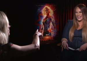 'Captain Marvel' Star Brie Larson Wants A WWE Match With Nia Jax