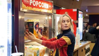 Brie Larson Surprised A Theatre Watching 'Captain Marvel' On Opening Weekend