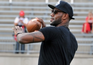 LeBron James Was Overjoyed About The Browns' Odell Beckham Jr. Trade