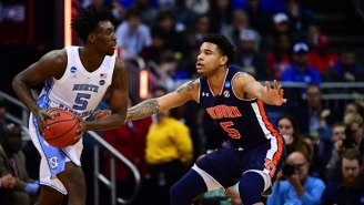 Auburn Got A Decisive Win Over North Carolina To Advance To The Elite Eight