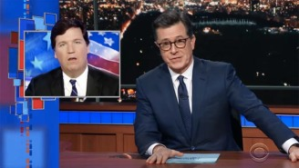 Stephen Colbert Unloads On Tucker Carlson Over Unearthed Audio Footage: 'You're Awful On So Many Levels'