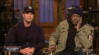 'SNL' Stars Colin Jost And Michael Che Will Compete At WWE's WrestleMania 35