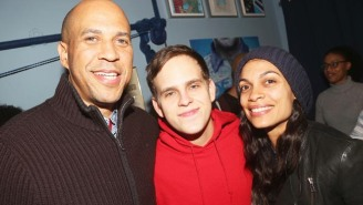Rosario Dawson Has Confirmed Her Rumored Relationship With 'Wonderful Human Being' Cory Booker