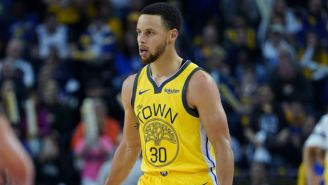 Steph Curry Called An Official The Game 'MVP' After Controversial Calls Cost The Warriors
