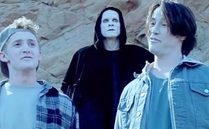 A Rather 'Grim' Friend Will Be Back For Another Excellent Adventure In 'Bill And Ted 3'