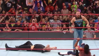 Watch What Happened After Raw Went Off The Air Last Night