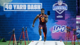 D.K. Metcalf Tore Up The NFL Draft Combine With A 4.33-Second 40-Yard Dash