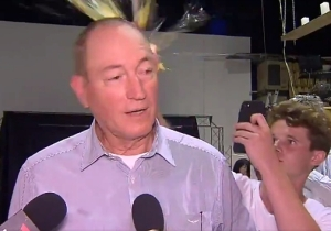 A Teen Dubbed #Eggboy Egged An Australian Politician Who Blamed Muslims Immigrants For New Zealand's Mass Shooting