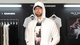 Eminem's Response To The Internet Rumor That He's Got A Deal With WWE May Disappoint Some Wrestling Fans