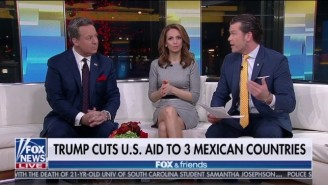 People Just Can't Get Over 'Fox And Friends' Mistakenly Claiming That There Are '3 Mexican Countries'