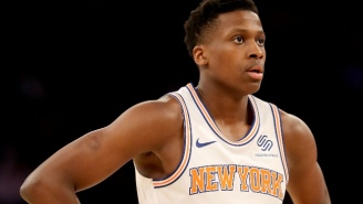 The Knicks Are Reportedly Expected To Explore Trading Frank Ntilikina