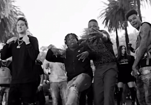 G-Eazy And Blueface Rep The 'West Coast' With YG And Allblack In The Video For Their Post-Hyphy Posse Cut