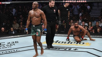 Kamaru Usman Dominated Tyron Woodley To Win The Welterweight Title At UFC 235