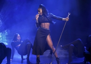 Normani And 6lack Gave A Superstar Performance Of 'Waves' On 'Fallon'