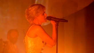 Watch Robyn's Rapturous Performance Of 'Ever Again' On 'Colbert'