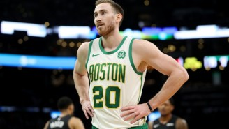 The Celtics 'Force Feeding' Gordon Hayward Reportedly 'Bothered That Locker Room'
