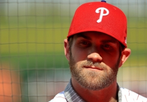 Bryce Harper Will Wear No. 3 Out Of Respect For Roy Halladay, And Allen Iverson Is Ecstatic