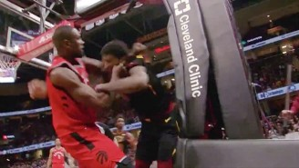 Serge Ibaka Choked Marquese Chriss And Both Threw Punches In A Heated Exchange