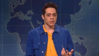 Pete Davidson Returned To 'SNL' Weekend Update To Discuss R. Kelly And Michael Jackson