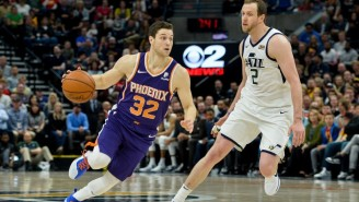 Jimmer Fredette Got A Standing Ovation From Jazz Fans When He Checked In For The Suns