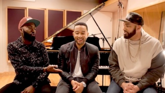 John Legend Helped Improve Desus & Mero's Highly Sexual Debut R&B Single, 'Chocolate Galaxy'