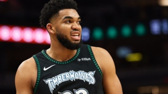 Karl-Anthony Towns Is 'Yelling From A Microphone' To Get D'Angelo Russell To Minnesota