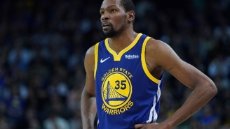 Kevin Durant 'Wasn't Used To' The Attention He Received From His Burner Accounts