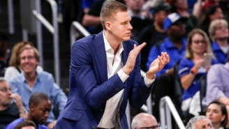 Kristaps Porzingis Has Reportedly Agreed To A Five-Year Max Deal In Dallas