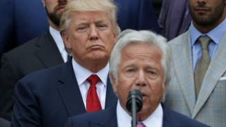 The Founder Of The Spa Where Robert Kraft Was Busted Watched The Super Bowl With President Trump