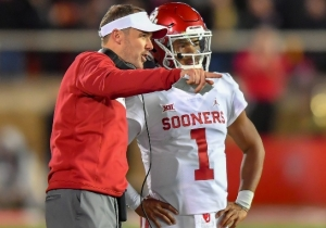 Oklahoma Coach Lincoln Riley Refutes The Report About Kyler Murray Struggling At The NFL Combine