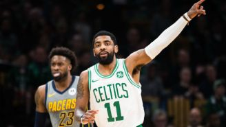 Kyrie Irving Sank A Game-Winning Layup To Beat The Pacers In Boston