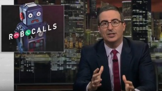 'Last Week Tonight With John Oliver' Rings In A Robocall Prank On The FCC