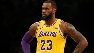 LeBron James Was Reportedly 'Stunned' By Magic Johnson's Departure But Supports Jeanie Buss