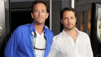 Jason Priestley Penned An Emotional Tribute To Luke Perry That Got Fans Choked Up