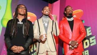 Migos Performed A Nickelodeon-Friendly Medley Of Their Hits At The Kids' Choice Awards
