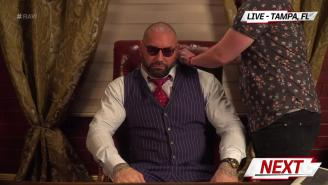 Batista Called The Creative Side Of His WWE Return 'A Nightmare'