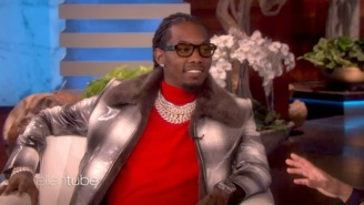 Offset Discussed His Controversial Apology To Cardi B And Performed With Travis Scott On 'Ellen'