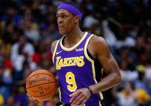 Rajon Rondo Won't Get Fined For Sitting Away From His Team And Says It's Being Over-Analyzed