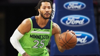 Derrick Rose Had Surgery To Remove Bone Chips In His Elbow