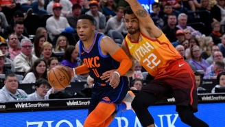 Donovan Mitchell And Thabo Sefolosha Commented On Russell Westbrook's Incident With A Jazz Fan