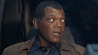 Samuel L. Jackson Has Been Trolling 'Captain Marvel' Fans With Fake Spoilers