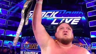 Samoa Joe Captured His First Main Roster Championship On WWE Smackdown