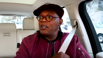 Samuel L. Jackson Singing '7 Rings' On 'Carpool Karaoke' Is Nothing Short Of Heroic