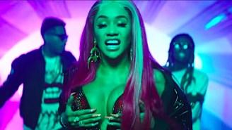 Lil Wayne And Saweetie Encourage Each Other To 'Get Nasty' In Kid Ink's Twerk-Filled 'YUSO' Video