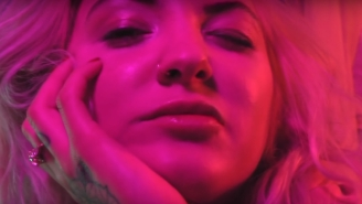 Julia Michaels' New 'Apple' Video Is A Blooming, Flower-Filled Dream